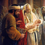 Сретение Господне или слава на лице Иисуса